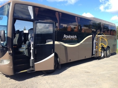 bus hire New Zealand, private charter coach hire